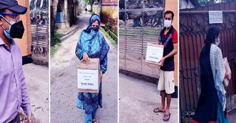 23 COVID-19 patients get foodstuffs in Rangpur