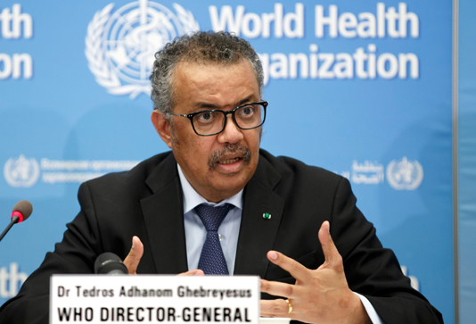 WHO team working with Chinese vaccine producers ahead of potential emergency use: WHO director-general