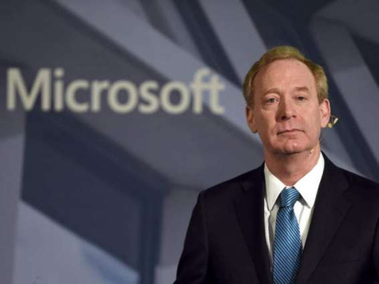 Microsoft chief says EU 'most influential' on tech rules