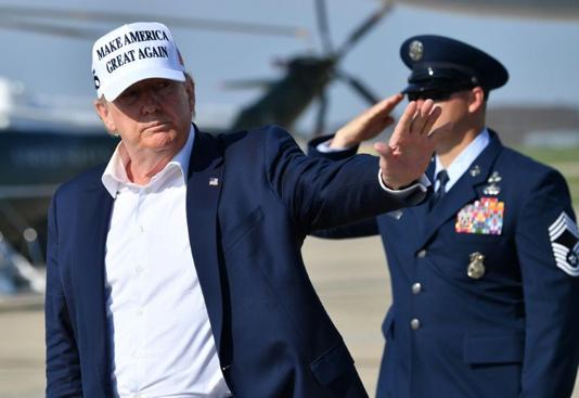 100 days ahead of vote, faltering Trump banks on 'silent majority'