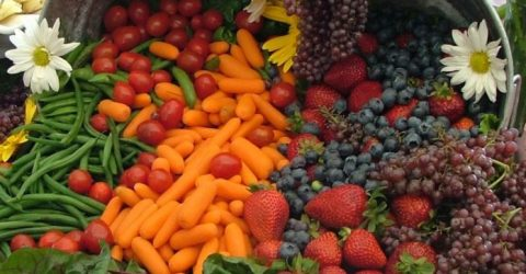 Eating more fruit, vegetables linked to lower risk of type 2 diabetes