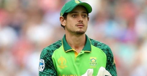 De Kock named South African cricketer of year