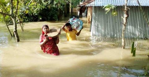 Water level in Ganges basin continues receding