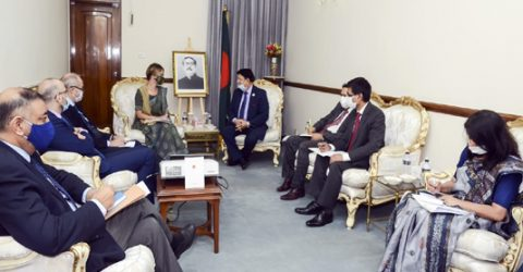 Dhaka seeks UN's strong partnership in managing COVID-19 impact