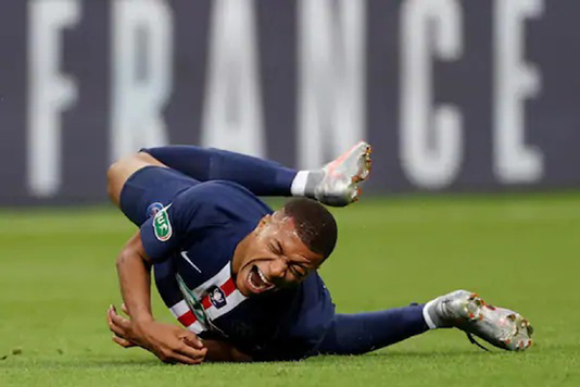 Mbappe out 'three weeks' and doubtful for Atalanta tie