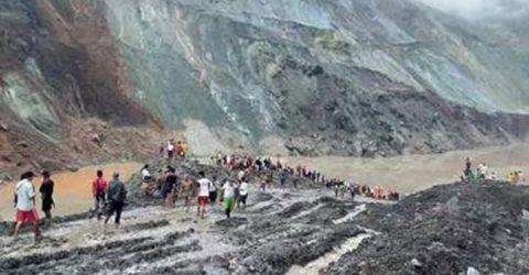 More than 100 dead in Myanmar jade mine landslide