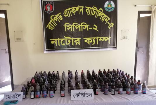 Two held with phensidyl in Rajshahi