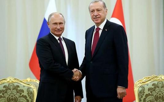 Putin, Erdogan advocate peaceful solutions to Armenia-Azerbaijan tensions