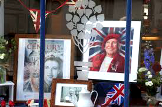 Spitfire tribute as UK says goodbye to WWII icon Vera Lynn