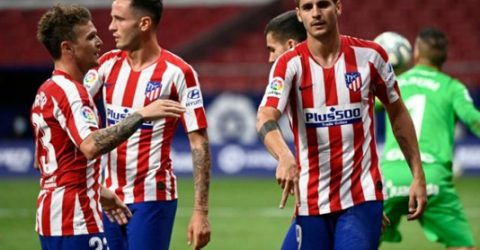 Morata double helps Atletico stretch unbeaten run to 12 games