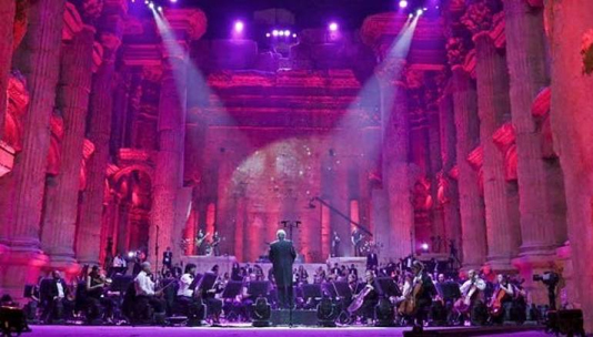 In Lebanon, single-concert festival serenades empty ruins