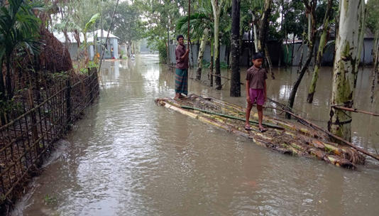 Rising water level in Ganges basin deteriorates flood situation further