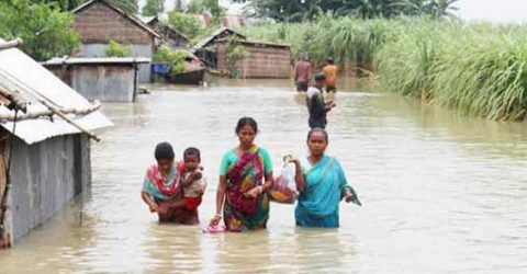 Flood situation in Ganges basin further improves