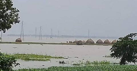 Flood water remains steady in Ganges basin