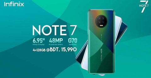 Infinix Announces Note 7: Explore the New Big with 48MP Quad Camera