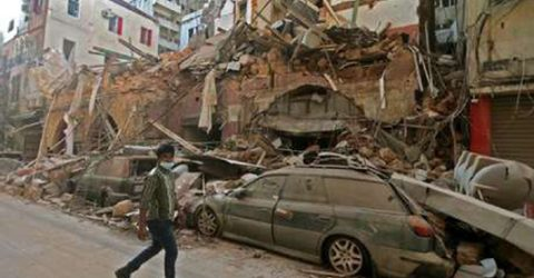 More than 60 still missing after Beirut mega-blast: ministry