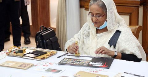 PM releases stamps, first day covers on Mourning Day