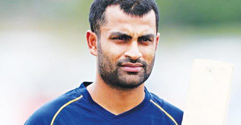 We made a mistake in the draft: Tamim Iqbal