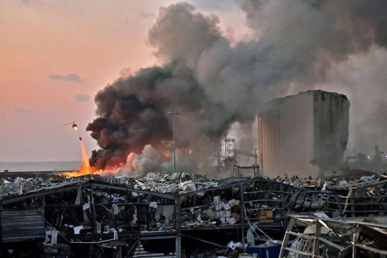 Utter devastation as toll from Beirut monster blast tops 100