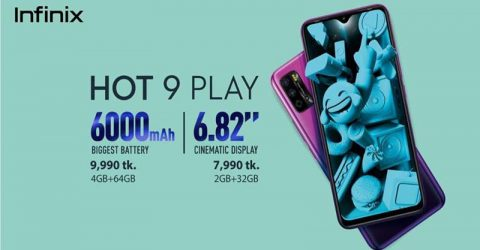 Infinix Rolls out HOT 9 Play in Bangladesh