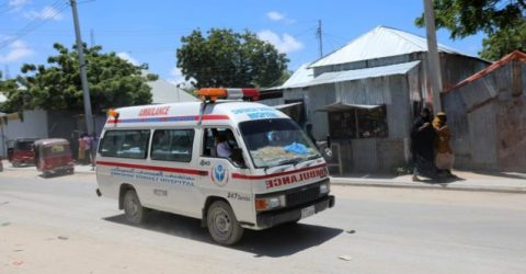 At least seven dead in car bombing near Somalia stadium