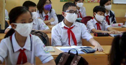 Students in Vietnam begin new school year amid COVID-19
