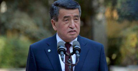 Kyrgyzstan president Jeenbekov announces resignation