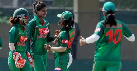 Bangladesh women's cricketers return Covid-19 negative