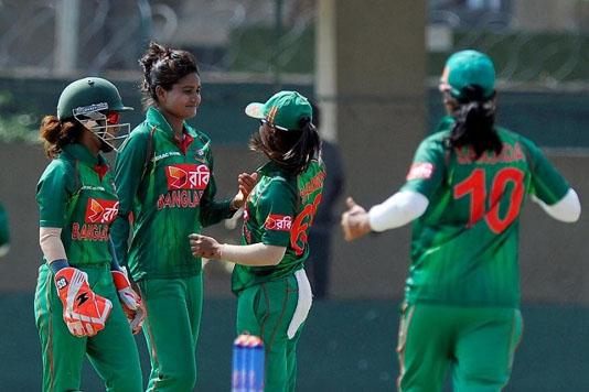 Bangladesh women's cricketers return Covid-19 negative
