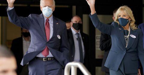 Biden casts early vote in US presidential race