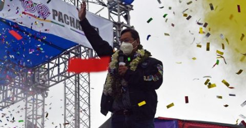 Bolivia confirms Arce presidential election win