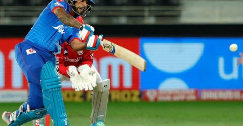 Dhawan ton in vain as Punjab down Delhi in IPL