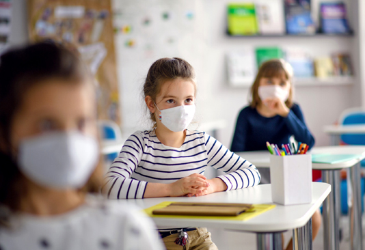 French students age 6 and up must wear masks in class: PM