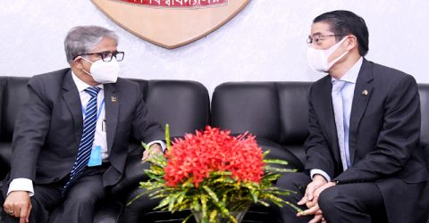 Japanese Ambassador calls on DU VC