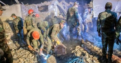 Missile kills 12 in Azerbaijan city, escalating Karabakh conflict
