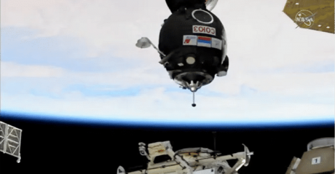 Oxygen supply fails on Russian segment of ISS, crew not in danger