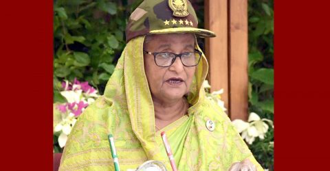 PM asks army to gain more strength to defend Bangladesh