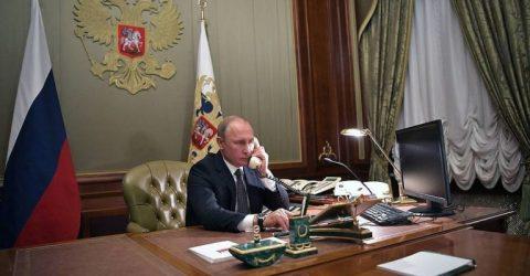Putin, Erdogan discuss Syria, Libya, Nagorno-Karabakh: Kremlin