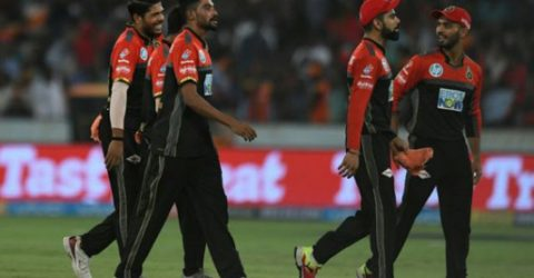 Siraj leads Bangalore's eight-wicket rout of Kolkata in IPL