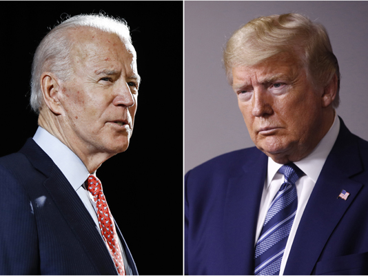 US election 2020: two weeks to go