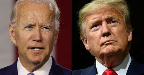 Trump, Biden battle for Florida on same day as race nears end