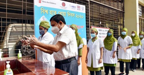 Global Handwashing Day celebrated