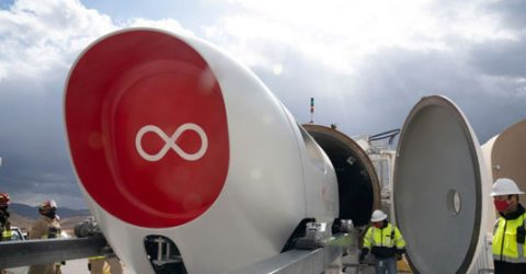 Virgin's Hyperloop carries passengers for the first time