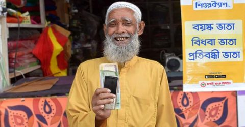 Elderly, Disabled and Widow allowance through SureCash