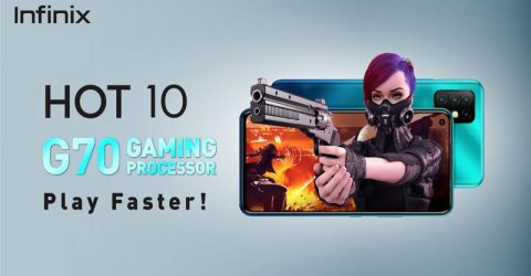 Peak G70 gaming performance confirmed with Infinix Hot 10