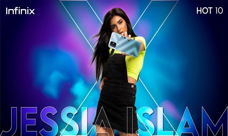 Jessia becomes Infinix brand ambassador