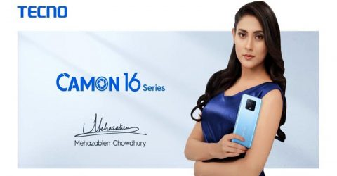 Mehazabien Chowdhury announced as the Ambassador of TECNO Mobile in Bangladesh