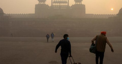 Pollution levels dip in Delhi, air quality still 'very poor'