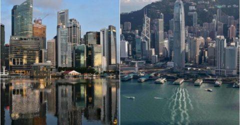 Hong Kong, Singapore postpone travel bubble after virus spike