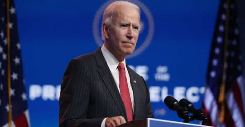 Saying 'America is back,' Biden presents security and foreign policy team